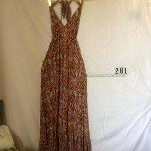 African print maxi dress by Cherish